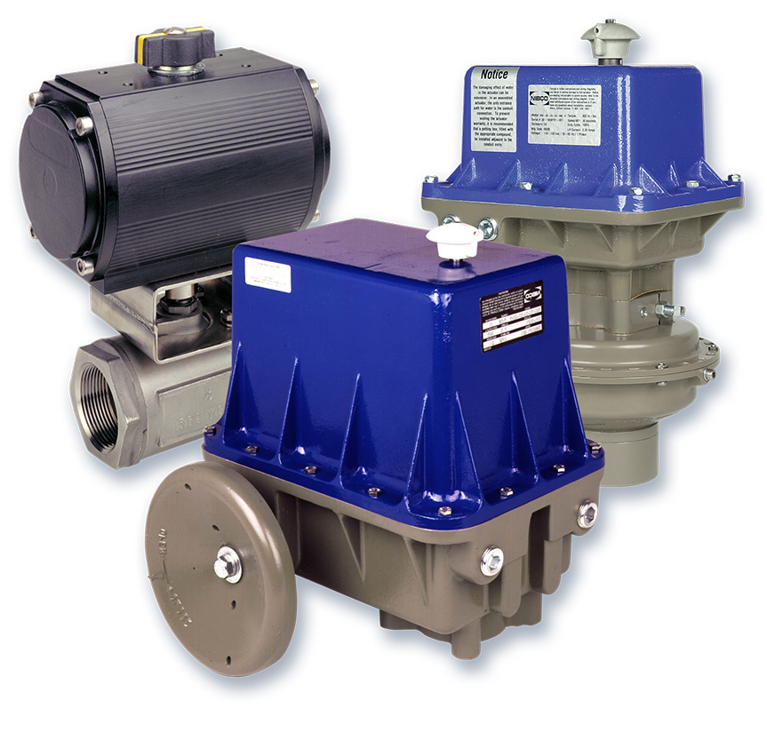 Actuation NIBCO Industrial Valves and Actuation