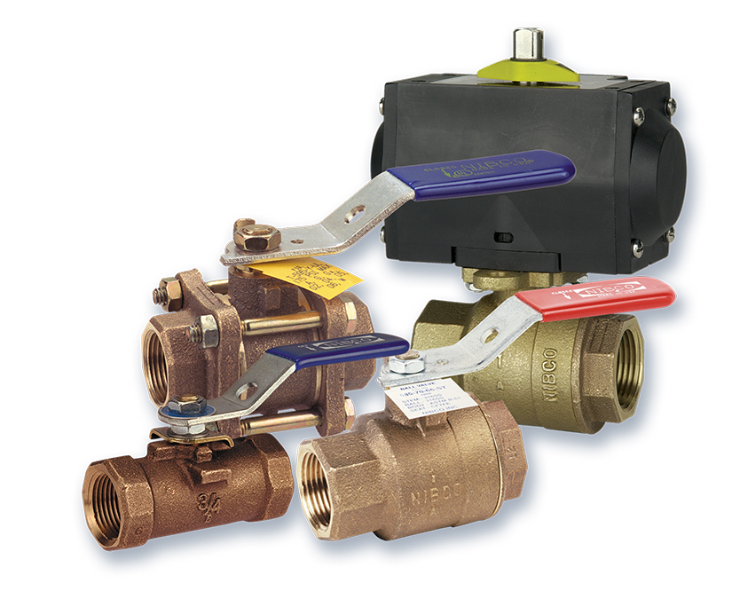 Bronze Ball Valves NIBCO Industrial Valves and Actuation
