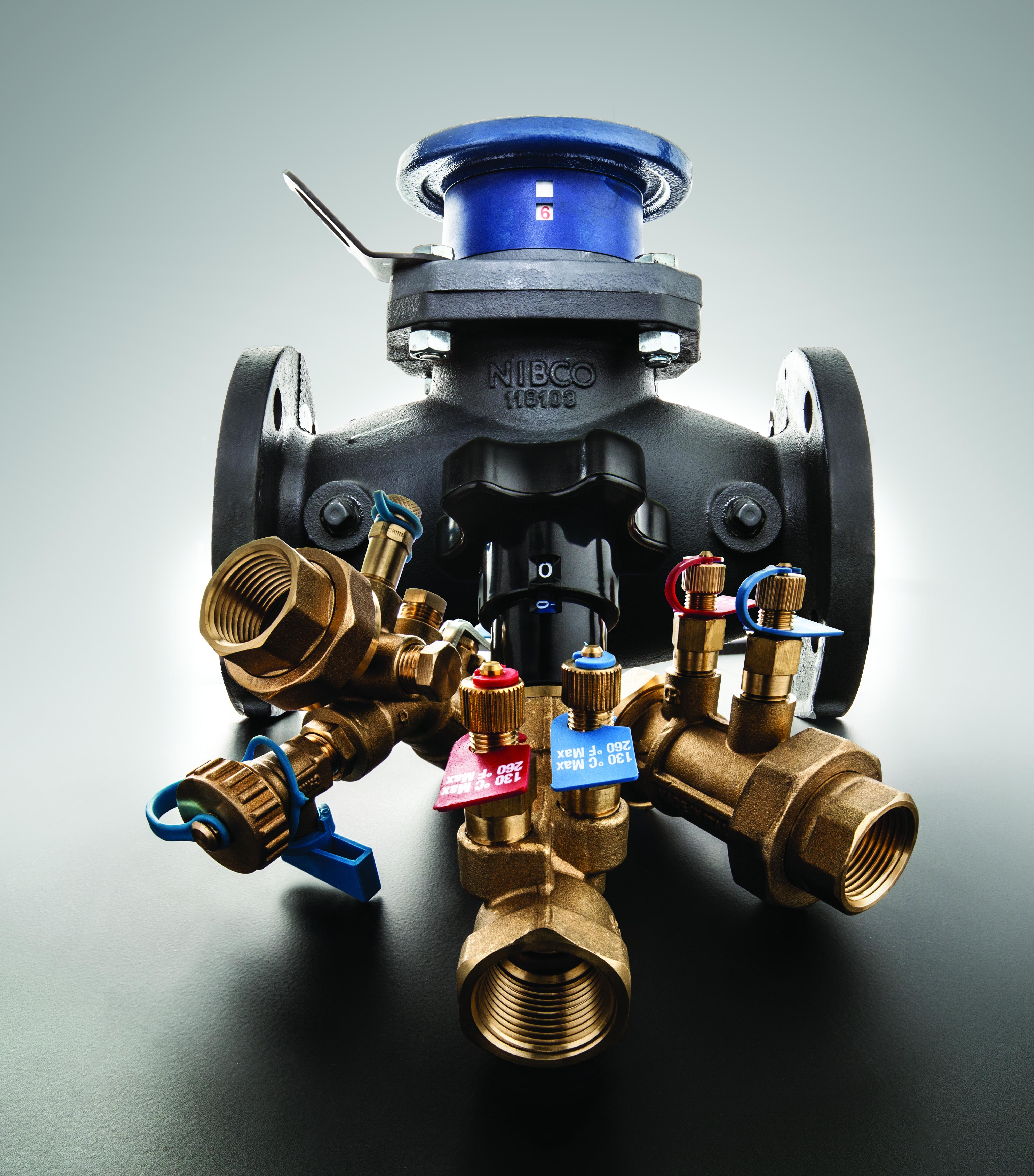 Balancing valves FLO-BOSS NIBCO