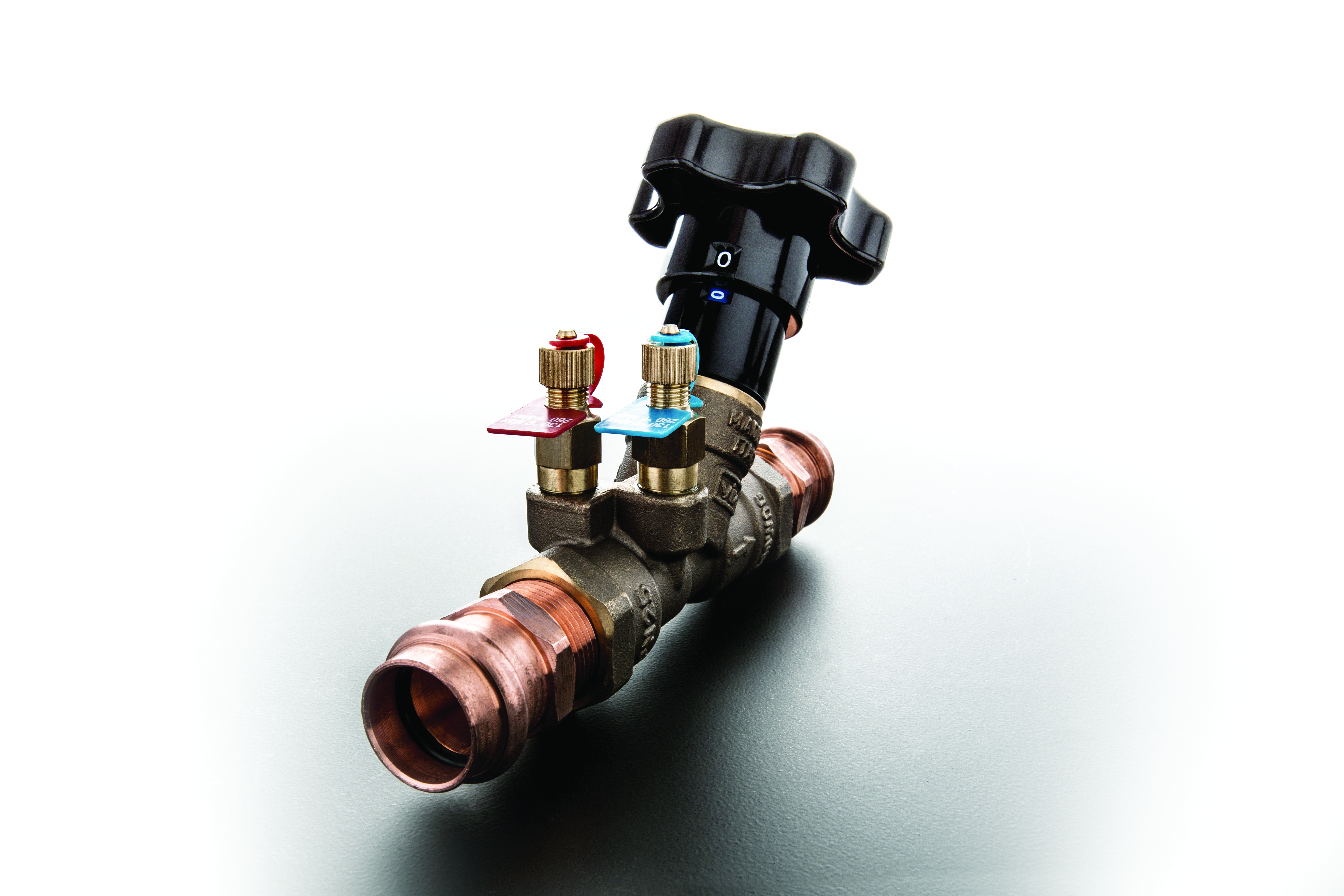 balancing valves press ends