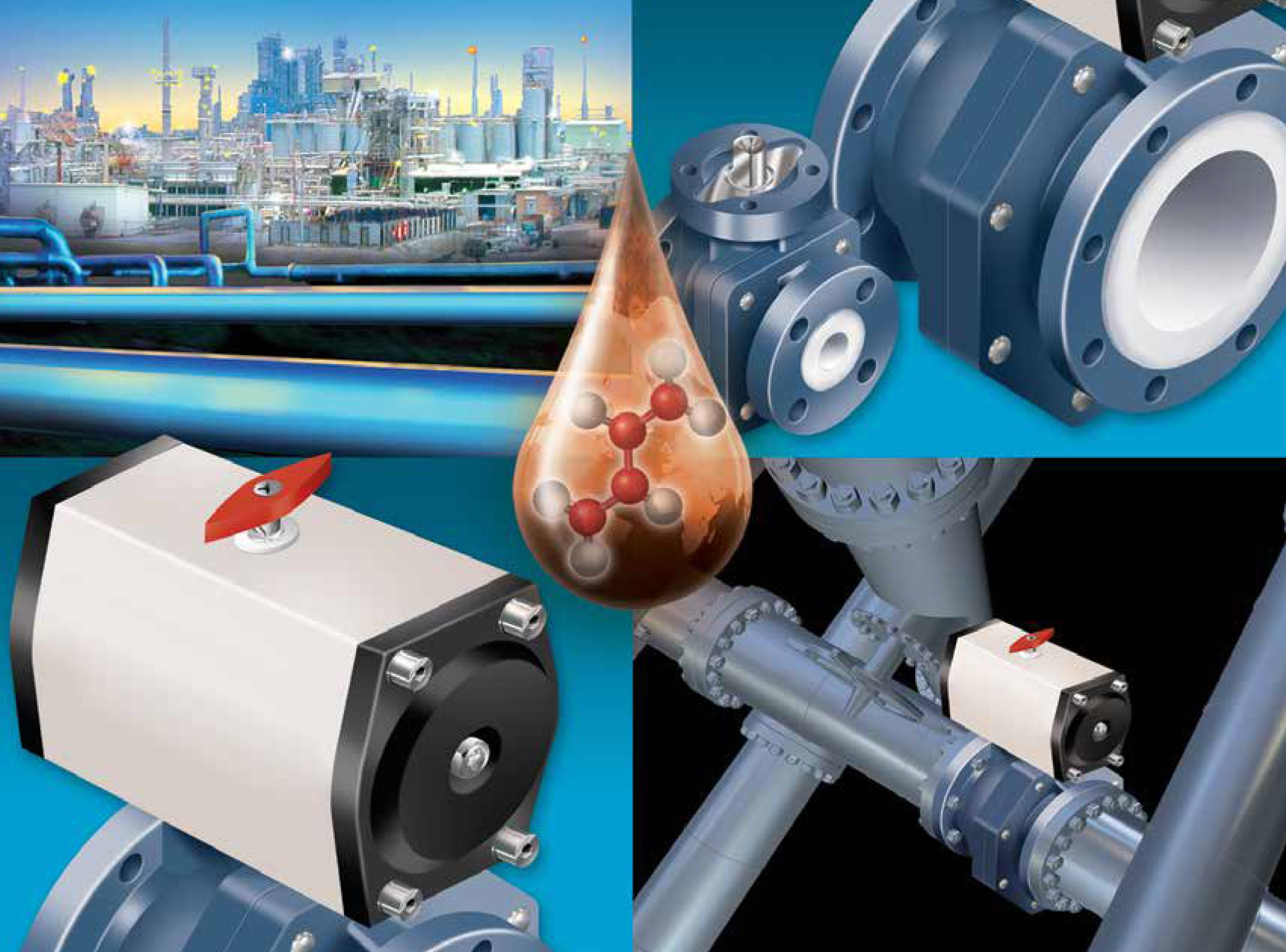 NIBCO Sure Seal Full Port Lined Ball Valves