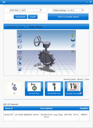 NIBCO CAD & BIM Models Catalog