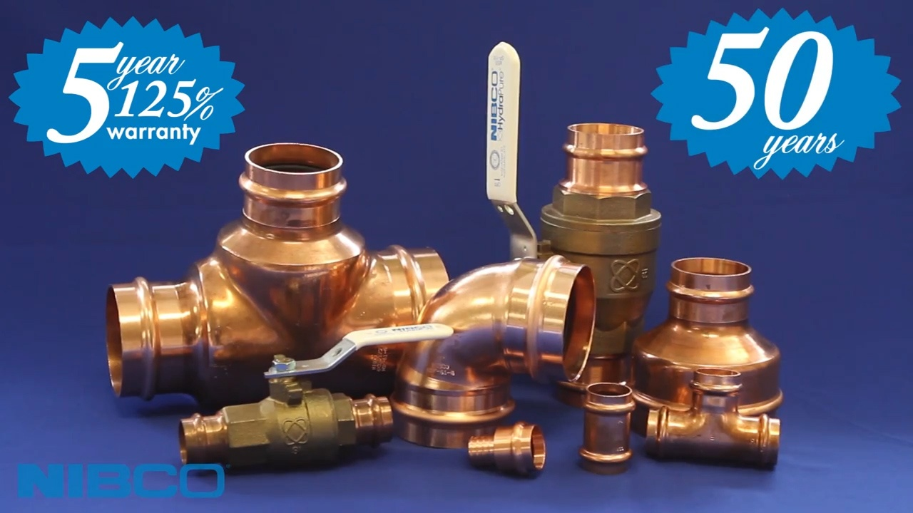 Press fittings and valves vs solder installation