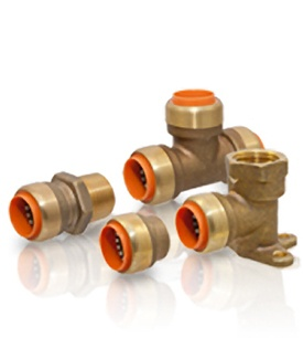 NIBCO plumbing PUSH to connect fittings