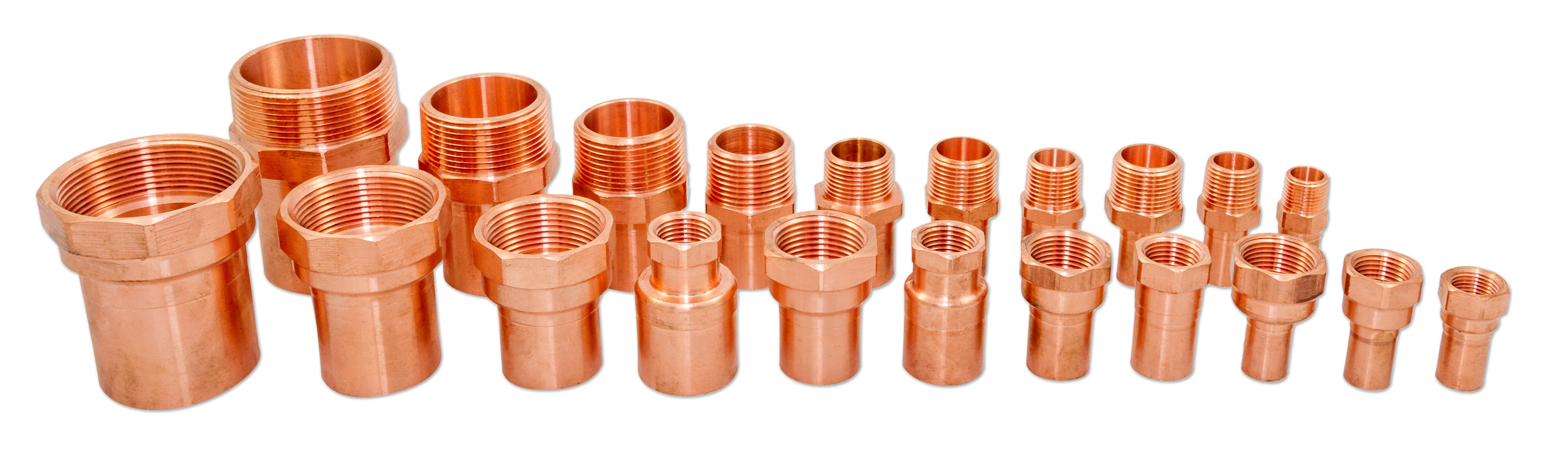 press fittings and valves extended adapters